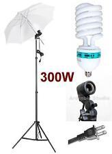 300W Photo Video Studio Light Umbrella Lighting Kit Set