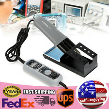 938d Portable Hot Tweezers Mini Soldering Station Led Display For Bga Smd Repair