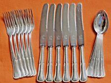 Löffel/Gabel/Messer  Ess-Besteck, Versilbert, **BERGER 100 - 30/50** !