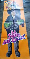 """Affiche  Cinéma"""" La Soupe aux choux"""" 60 x 160 cm   pantalon"""