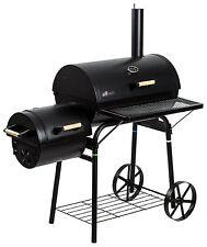 El Fuego Holzkohlegrill Dakota  BBQ Smoker Barbecue Grillwagen Grill