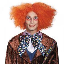 Mad Hatter Wig Adult Alice in Wonderland Costume Halloween Fancy Dress