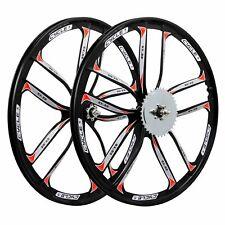 BBR Tuning 26 Inch Heavy Duty 10 Spoke STAR Motorized Bike Dis Brake Mag Wheel S