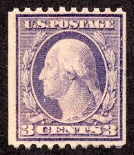 US # 489 (1916) 3c, FVF, MMH  - Washington