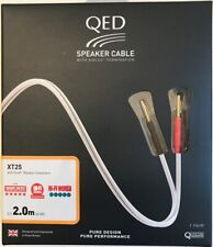 QED Reference XT25 Speaker Cable (Factory Terminated 3.0m Pair)