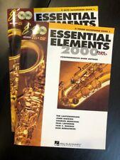 Essential Elements 2000 Plus Dvd Eb Alto & Bb Tenor Saxophone Bk.1