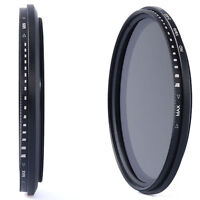 72mm Neutral Density Variable ND Filter for Nikon D7100 D7000 D5200 D5100 LF27