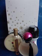 AVON Coffret FAR AWAY Parfum+déo bille+Crème corps+Parfum Flacon de poche bille