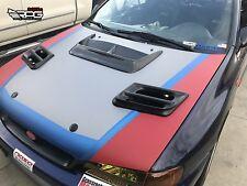 RPG Prodrive WRC S5 Hood Vent w/ Water Tray for Subaru Impreza GC8 STi WRX 22B