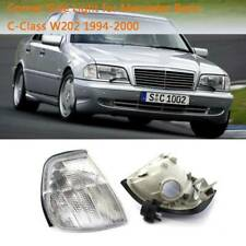 Clear Corner Turn Signal Lights Lamp For MERCEDES C-CLASS W202 1994-2000 GZ0806