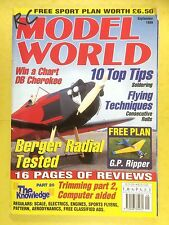 RC Model World - Radio Controlled Aircraft, September 1999 -Free Plan G.P.Ripper