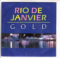 """GOLD Vinyle 45T SP 7"""" RIO DE JANVIER - A L'EST D'EDEN - WEA 247800 Frais Reduit"""