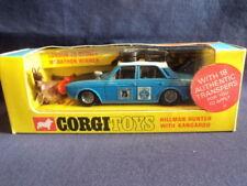 Corgi 1960's Hillman Hunter With Kangaroo No: 302 MINT Ex Shop Stock