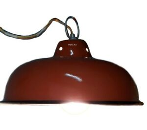 Hanging Lampshed Iron Vintage Pendant Ceiling LightLamp  (Set of 5)
