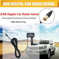 DAB/DAB+ montaje en cristal DAB DIGITAL ANTENA DE RADIO PARA COCHE SMA PLUG