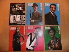 THE AVENGERS COMPLETE COLLECTION DIANA RIGG EMMA PEEL TV 6 card set unstoppable