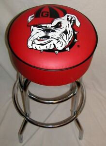Georgia Bulldogs Logo Sign Bar Stools Barstool