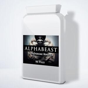 ALPHABEAST - STRONGEST ANABOLIC TESTOSTERONE BOOSTER