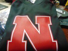 New listing Nebraska Huskers adidas Football Golf Men's Hooded pull over Jacket Size Large