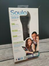 NIB NEW Soulo Karaoke Microphone for the iPhone, iPad, and iPod Touch