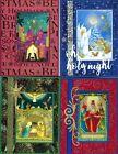Handmade RELIGIOUS CHRISTMAS CARDS #CR9--Lot of 4