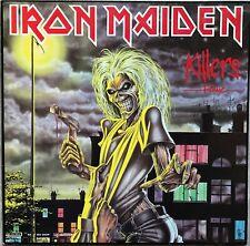 Iron Maiden – Killers, Vinyl, GERMAN PRESS 1985, 1C 038-15 7593 1, TOP ZUSTAND