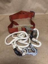 Vintage R.H. Buhrke Co. Klein Tools Safety Belt Model 5475 Size Medium #2