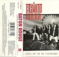 Lights out on the Playground by Baton Rouge (Cassette, 1991, EastWest Records)