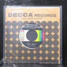 "Kitty Wells - Dasher / Christmas Ain't Like... 7"" Mint- Vinyl 45 Decca 31441 USA"