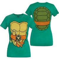Teenage Mutant Ninja Turtles Michelangelo Costume Junior Women's T-Shirt