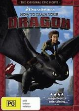 HOW TO TRAIN YOUR DRAGON DVD Region 4 BRAND NEW & SEALED!