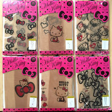 Hello Kitty Tattoo Tights Stocking Pantyhose Sheer Stocking Set of 6 Pairs (M-L)