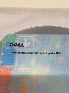 Dell Microsoft Encarta Encyclopedia 2004 Software Reinstallation CD New Sealed
