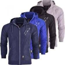 Crosshatch Polyester Regular Size Coats & Jackets for Men