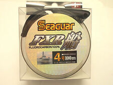 SEAGUAR FXR FLUOROCARBON LEADER LINE 100m - #4.0 16lb 0.330mm  From Japan