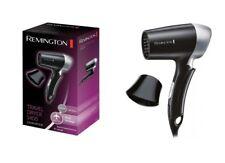 New Remington D2400 Travel Hair Dryer 1400W Multi Voltage Folding Handle Compact