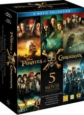 Pirates Of The Caribbean 5-Movie Collection (Blu- (UK IMPORT) DVD [REGION 2] NEW