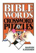 Bible Words Crossword Puzzles 5