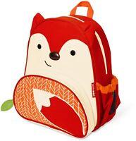 Skip Hop ZOO LITTLE KID BACK PACK - FOX Kids Clothes Accessories Bags BN