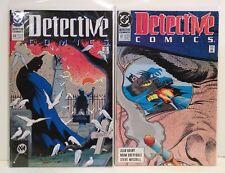 Detective Comics 610 611 Snow and Ice Comics Lot (2) - Batman - Vintage 1990 DC
