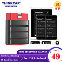 for IOS Android Thinkdriver Bluetooth OBD2 Scanner OBD2 Car Diagnostic PK AP200