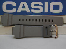 Casio Watch Band G-7800 B-8V Silver/Gray Rubber G-Shock Watchband / Strap