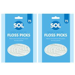 150pk Dental Floss Sticks | Tooth Floss Picks Made From Premium Polymer Threads