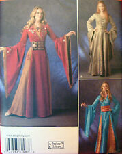 Simplicity 1487 GAME OF THRONES MEDIEVAL DRESS GOWN sz 6-12 Costume Pattern