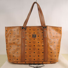 AUTHENTIC MCM Visetos Big  Shopper Bag + Dust Bag