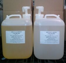 Color-Pro Clear Casting Resin Liquid Plastic 10 gallons