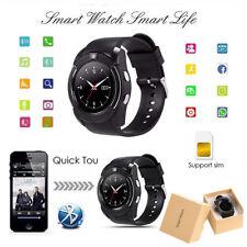 Smart Watch Android Negro reloj inteligente smartwatch mujer hombre camara SIM