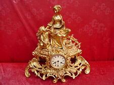 bella, vecchio ,grande orologio da camino__pendule__48cm __Pontonie & Cs__parigi