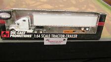 DCP #30777 A WARREN GIBSON LIMITED FL SEMI CAB TRUCK & DRY VAN TRAILER 1:64/ FC