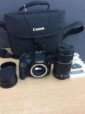 Canon EOS Rebel T6 18.0MP Digital SLR Camera with 55-250mm Lens